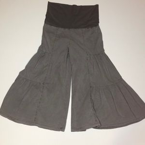NWT Wearables Side-Tier Palazzo Pant